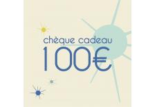 Chèque cadeaux de 100 Euros