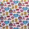 ZOOBlanc/Multicolore