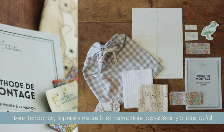 Kits de couture contemporains pour les parents et leurs enfants